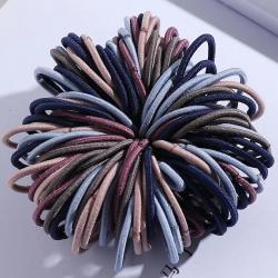 Detské gumičky do vlasov-Hnedá/Multi