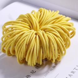 Detské gumičky do vlasov-Žltá