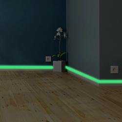 Fosforeskujúca lepiaca páska-Zelená/2x140cm
