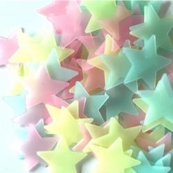 Fosforeskujúce Hviezdičky na stenu-Multi