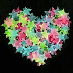 Fosforeskujúce Hviezdičky na stenu-Typ2-Multi