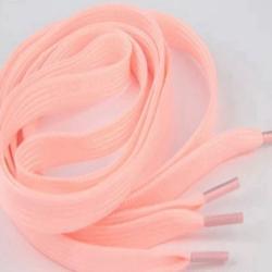 Fosforeskujúce šnúrky do topánok-Ružová/100cm