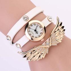 Hodinky Angel Wings - Biela