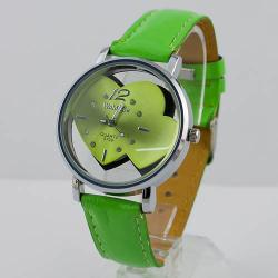 Hodinky WoMaGe LOVER - Zelená