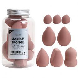 Hubky na Make-Up Maange-Hnedá