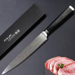 Japonský damaškový kuchynský nôž VG10-Carving