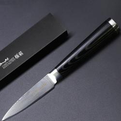 Japonský damaškový kuchynský nôž VG10-Paring