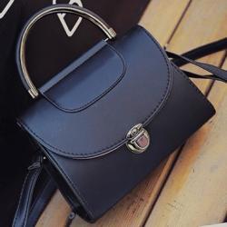 Kabelka Briefcase-Čierna