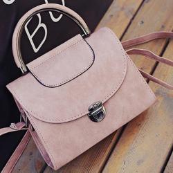 Kabelka Briefcase-Ružová