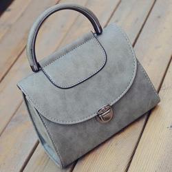Kabelka Briefcase-Sivá