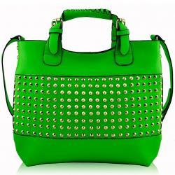 Kabelka Hilda-Zelená