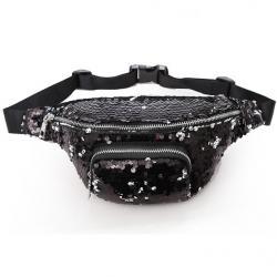 Ľadvinka Glitter-Čierna