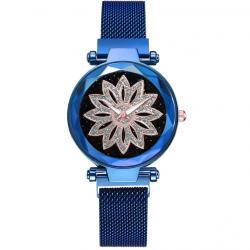 Magnetické Hodinky Ornamento-Modrá