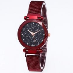 Magnetické Hodinky Stars-Červená