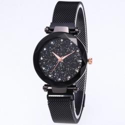 Magnetické Hodinky Stars-Čierna