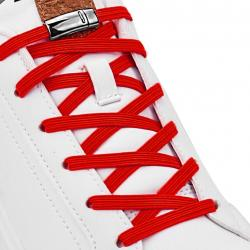 Magnetické šnúrky do topánok-Červená