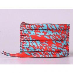 Magnetické šnúrky do topánok-Modrá/Červená