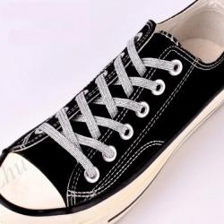 Magnetické šnúrky do topánok-Strieborná