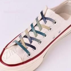 Magnetické šnúrky do topánok-Zelená