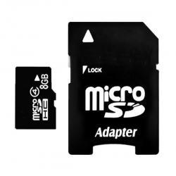 Micro SD 8GB + SD Adaptér