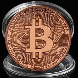 Minca Bitcoin-Ružová/Zlatá