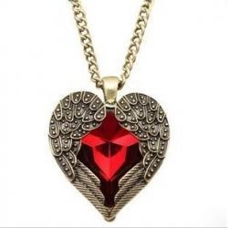 Náhrdelník Angel Heart-Červená