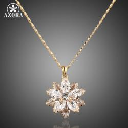 Náhrdelník Bloom AZORA-Zlatá