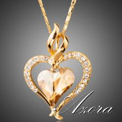 Náhrdelník Corazón AZORA-Zlatá