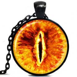 Náhrdelník Evil Eye-Čierna