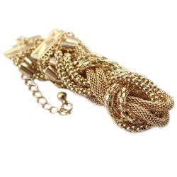 Náhrdelník Gold Twisted