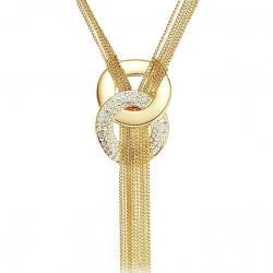 Náhrdelník Golden Eight-Zlatá