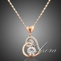 Náhrdelník Heart AZORA - Zlatá