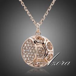 Náhrdelník Hollow AZORA-Zlatá