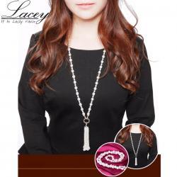 Náhrdelník Lacey Klára-Biela