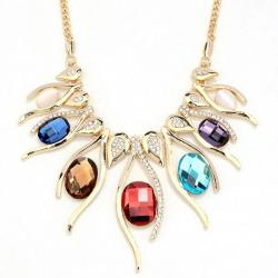 Náhrdelník Stone Rainbow-Multi