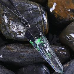 Náhrdelník Stone Resin-Zelená