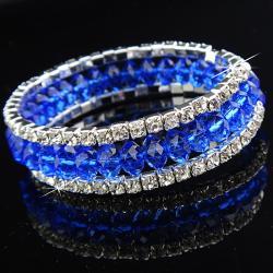 Náramok Charm - Modrá