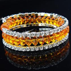 Náramok Charm - Oranžová