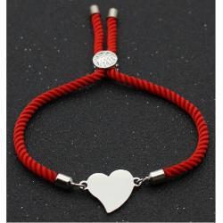 Náramok Cute Heart-Červená