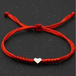 Náramok Dear Heart-Červená