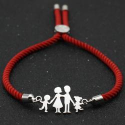 Náramok Family-Červená