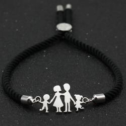 Náramok Family-Čierna