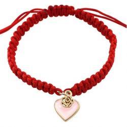Náramok Knitted-Ružová