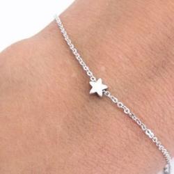 Náramok Little Star-Strieborná