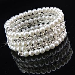 Náramok Pearl Crystal - Luxury