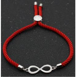 Náramok Red Infinity-Červená