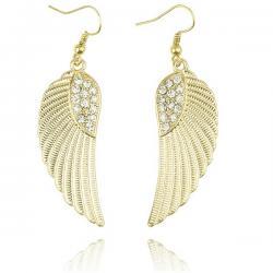 Náušnice Angel wings - Zlatá