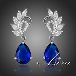 Náušnice Blue Wings AZORA-Modrá