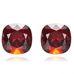 Náušnice Cube EXCLUSIVE-Červená