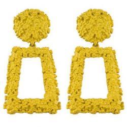 Náušnice Dominga-Žltá